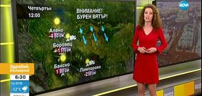 Прогноза за времето (23.01.2020 - сутрешна)