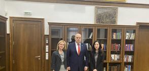 Гешев се срещна с юридическия съветник на Посолството на САЩ в България