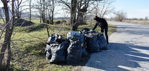 Тонове отпадъци са изнесени от девет нерегламентирани сметища в Асеновград