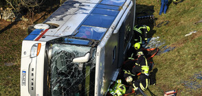Две деца загинаха при катастрофа с училищен автобус в Германия (ВИДЕО+СНИМКИ)