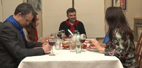 """Вечеря за пионерчета и чавдарчета с Тодор Славков в """"Черешката на тортата"""""""