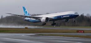"""Новият самолет на """"Боинг"""" излетя за първия си полет (ВИДЕО+СНИМКИ)"""