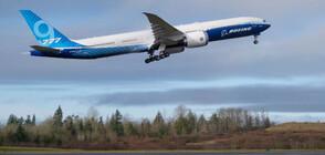 Най-големият двумоторен пътнически самолет извърши първия си полет (ВИДЕО+СНИМКИ)