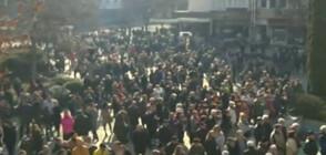 Ботевградчани на протест в подкрепа на кмета