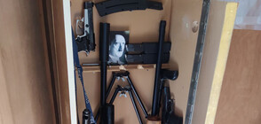 Откриха оръжия и боеприпаси в дома на мъжа, самоубил се в ДАНС (СНИМКИ)