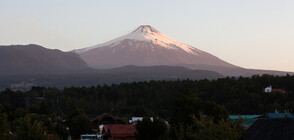 Вулкан в Чили изхвърли дим и пепел над 3000 метра (ВИДЕО)