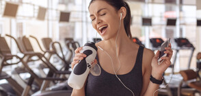 Бързата музика прави тренировките по-леки