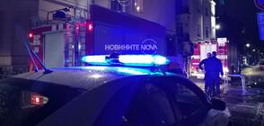 Възрастен мъж загина при пожар в София (ВИДЕО+СНИМКИ)