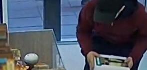 Хванаха мъжете, откраднали кутия с дарения за млада жена от магазин в София