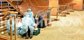ЕКСКЛУЗИВНИ КАДРИ от английския кораб, поставен под карантина заради коронавируса (ВИДЕО+СНИМКИ)