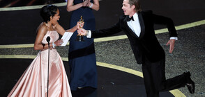 """Брад Пит с първи актьорски """"Оскар"""" (ВИДЕО+СНИМКИ)"""