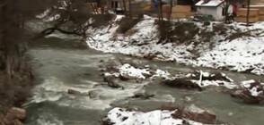 Aвария на хвостопровод замърси водите на две реки