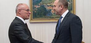 Румен Радев и управителят на БНБ обсъдиха влизането в еврозоната