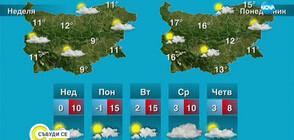 Прогноза за времето (15.02.2020 - сутрешна)