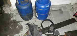 Взрив на газова бутилка вдигна на крак цял квартал в Русе (ВИДЕО+СНИМКИ)