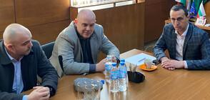 Гешев се срещна с кметовете на Чирпан и Зетьово (ВИДЕО+СНИМКИ)