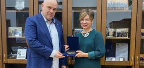Иван Гешев се срещна с посланика на Турция Айлин Секизкьок