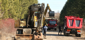 5 км тръби от водопровода Мало Бучино - Перник вече са положени