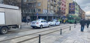Трамвай блъсна дете в центъра на София (ВИДЕО)