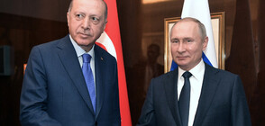 Ердоган и Путин обсъдиха по телефона ситуацията в Идлиб (ВИДЕО)