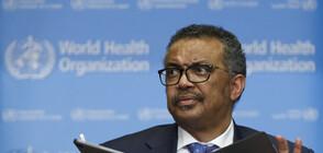 Шефът на СЗО: Трябват бързи действия за спиране на епидемията от коронавируса