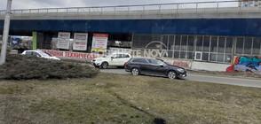 Катастрофа затрудни за кратко движението на Площада на авиацията (СНИМКИ)