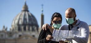 Страх от зараза обзе улиците на Италия (СНИМКИ)