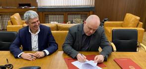Гешев подписа с КНСБ Меморандум за разбирателство и сътрудничество