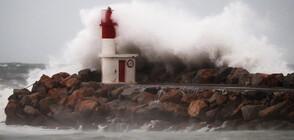 Торнадо помете град във Франция (СНИМКИ)