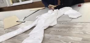 Започва производството на предпазно облекло за медиците