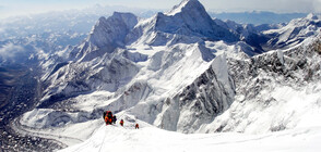 Боклукът от Еверест се превръща в изкуство