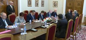 Бизнесът на спешна среща при президента (ВИДЕО)