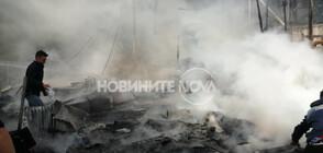 6-годишно дете загина при пожар в мигрантски лагер на остров Лесбос (СНИМКИ)