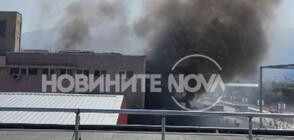 Пожар в болница в Пловдив наложи евакуацията на пациенти (ВИДЕО+СНИМКИ)