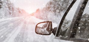 Обилни снеговалежи у нас в началото на пролетта (ВИДЕО)