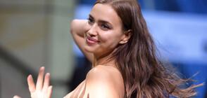 САМО ПО ПЛОЧКИ: Ирина Шейк се съблече за корицата на списание (СНИМКИ)