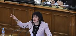 Караянчева се извини за изказването си, че замразяването на депутатските заплати е популизъм