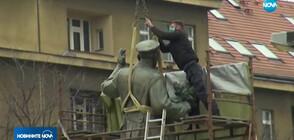 Властите в Прага премахнаха паметник на съветския маршал Иван Конев (ВИДЕО)