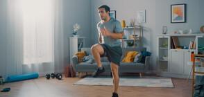Италианец пробяга 42 км около кухненската си маса (ВИДЕО)