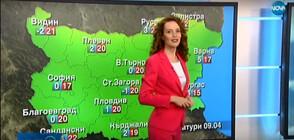 Прогноза за времето (08.04.2020 - централна)