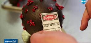"""Френски сладкар """"превърна"""" COVID-19 в апетитен шоколадов десерт (ВИДЕО)"""