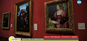 ВЕСЕЛИ КАДРИ: Музеите по света отправиха предизвикателство към хората в изолация (ВИДЕО)