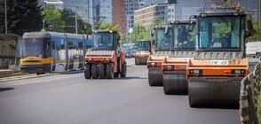 """Фандъкова: Ремонтът на бул. """"България"""" е последният ключов ремонт на булевард в столицата"""