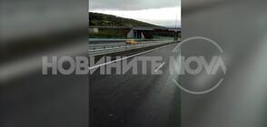 """ОТ """"МОЯТА НОВИНА"""": В насрещното по магистралата (ВИДЕО)"""