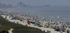 Хиляди американци изпълниха плажовете и парковете в САЩ (ВИДЕО)