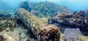 Откриха останки на кораб на 200 години край Мексико (ВИДЕО)
