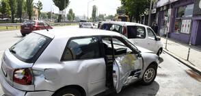 Верижна катастрофа между тролей и 6 коли задръсти столично кръстовище (СНИМКИ)
