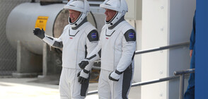 SpaceX прави втори опит да изстреля двамата космонавти до МКС (ВИДЕО+СНИМКИ)