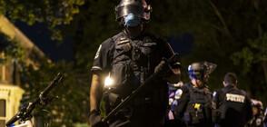 Десетки журналисти от цял свят протестираха срещу поведението на американската полиция