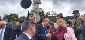 Румен Радев: Знамето на българската свобода е в ръцете на сегашните поколения